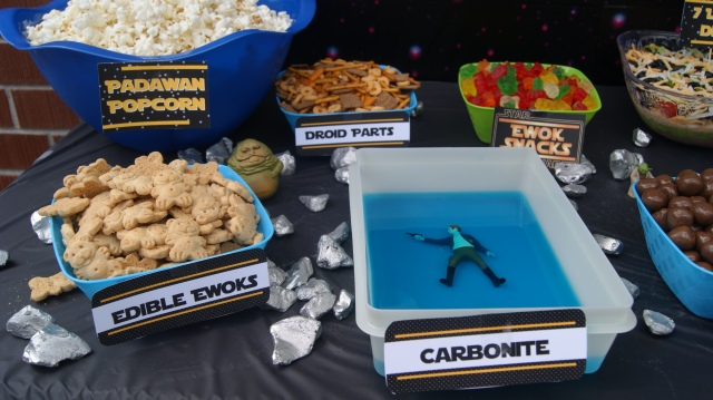 star wars snack table