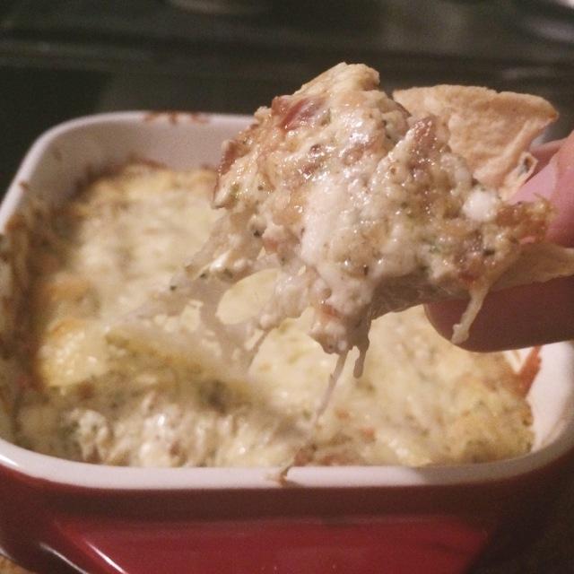 hot caramilzed onion dip