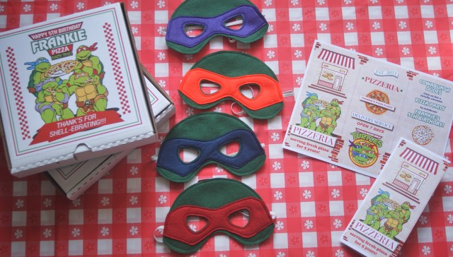 ninja turtles party