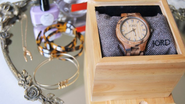 jord watch, wooden watch