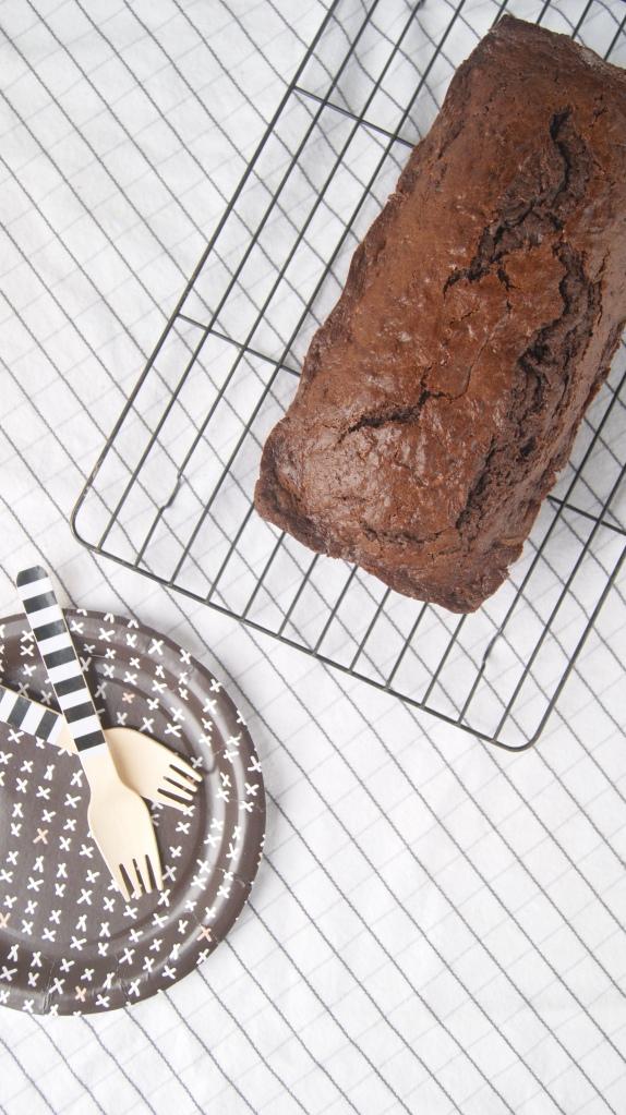 Cake mix zucchini bread