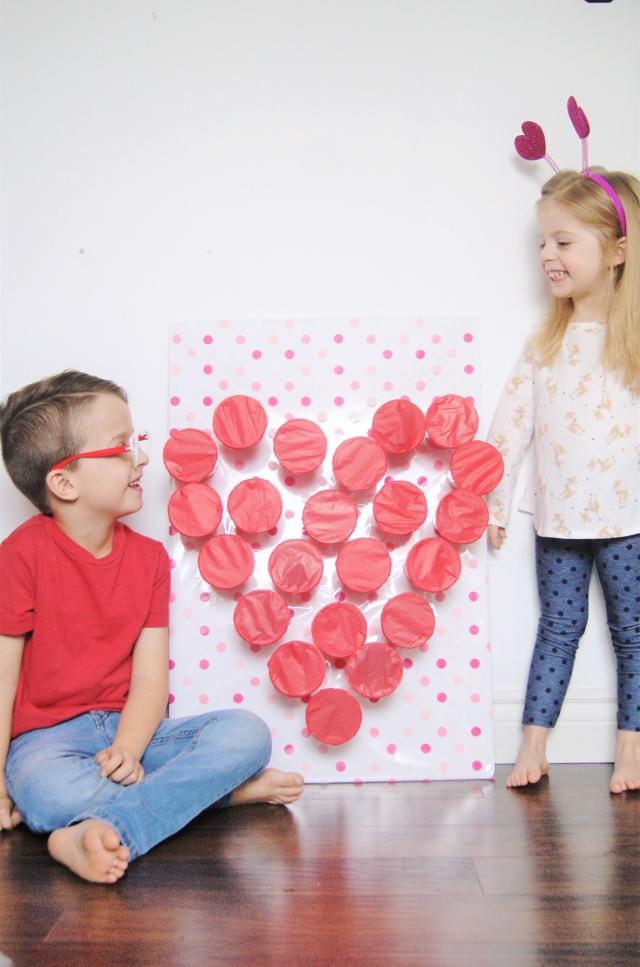 Valentine's Day punch game